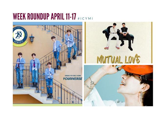 [Week Roundup: April 11 - 17] Dongkiz, Kyle Lo, Jvde Milez, and Hyunjun Hur