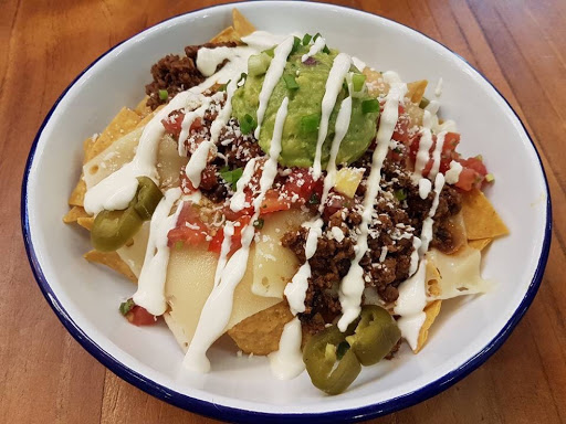 Jalapeño nachos from Barrio by Mex Out at Vivo City