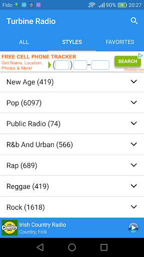 download radio stations to cell phone