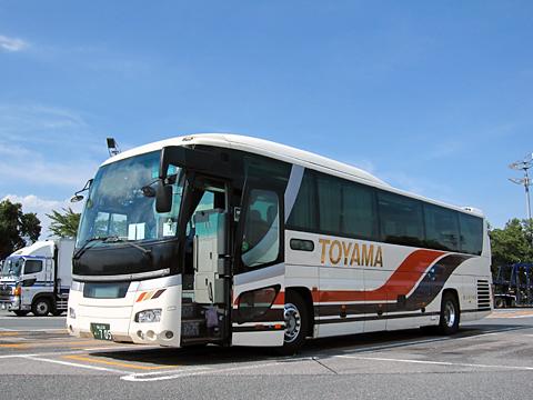富山地方鉄道「富山東京線」 ・705 上里SAにて その1