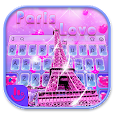 Paris Love Keyboard Theme