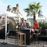 excellent day time rooftop party at Le Perchoir de L'est in Paris, Paris - Ile-de-France, France