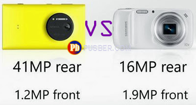 Kamera Nokia Lumia 1020 dan Samsung Galaxy S4 Zoom