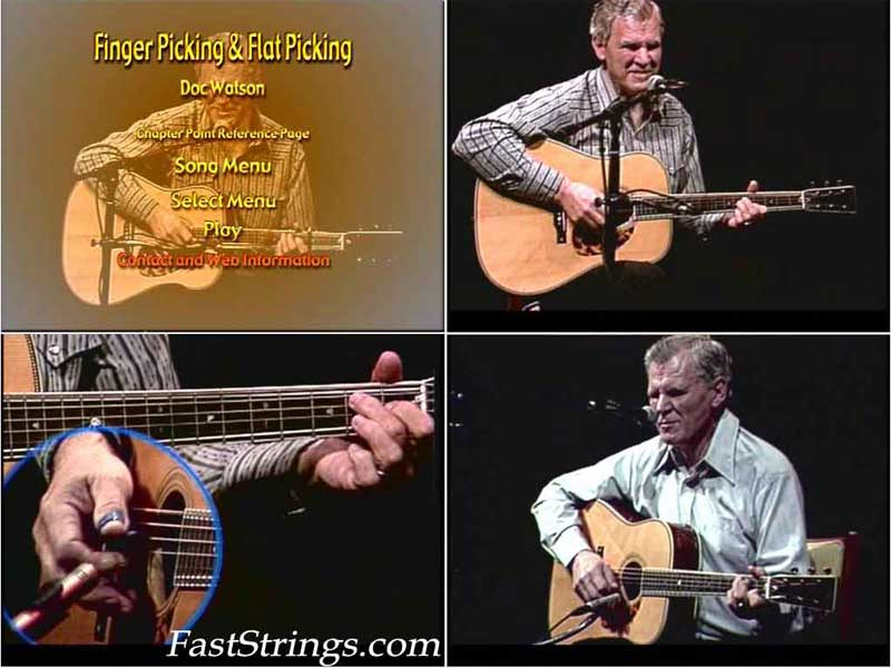 Doc's Watson Guitar - Fingerpicking & Flatpicking