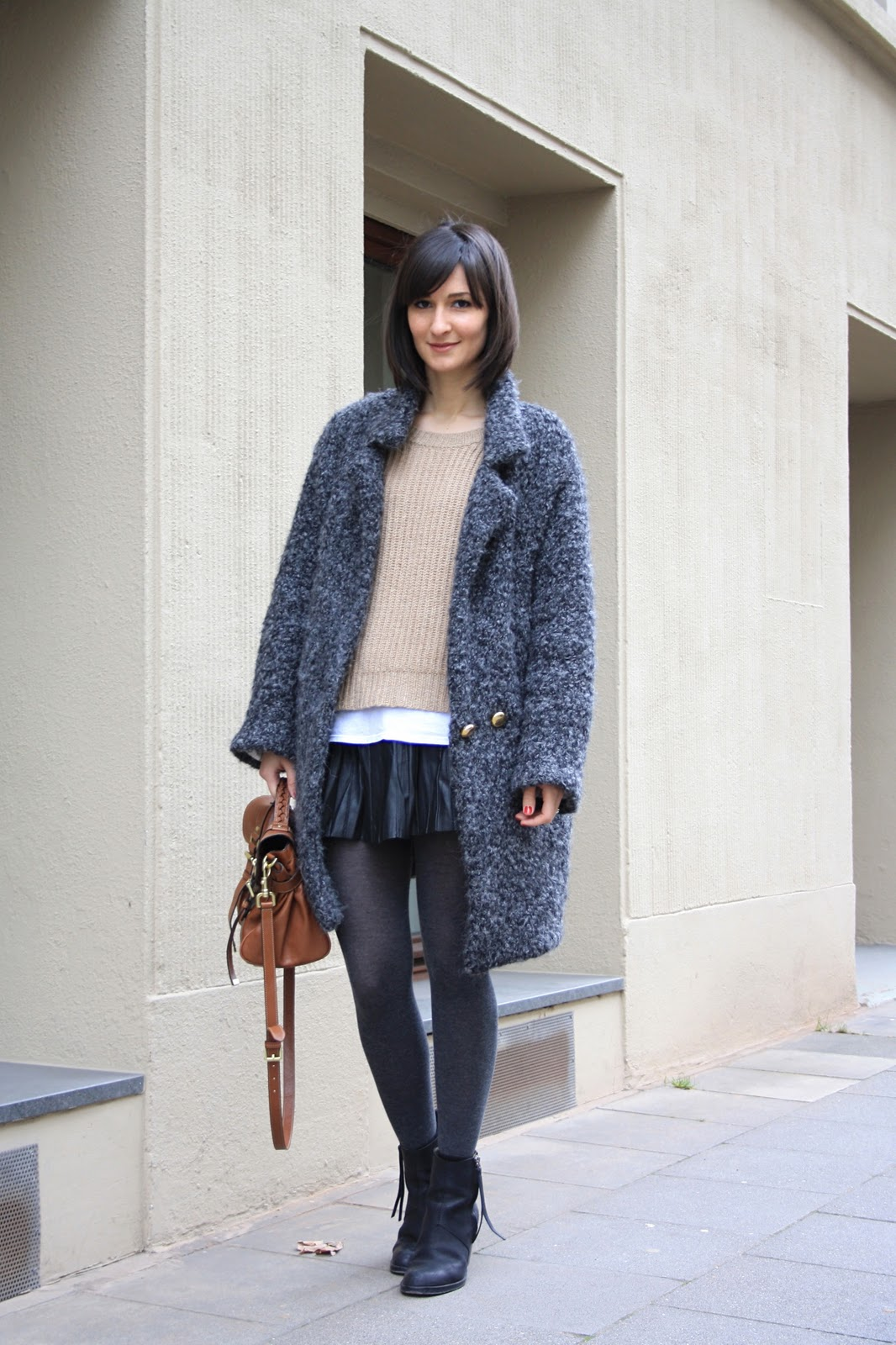 Αποτέλεσμα εικόνας για Oversized coat with skirt teen