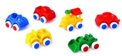 Bộ đồ chơi Xe ô tô Viking Toys V1141