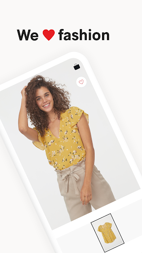 Screenshot for H&M - we love fashion in United States Play Store
