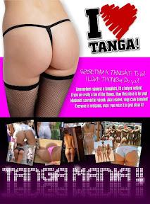 I love Tanga facebook hirdetés grafikai tervezése.