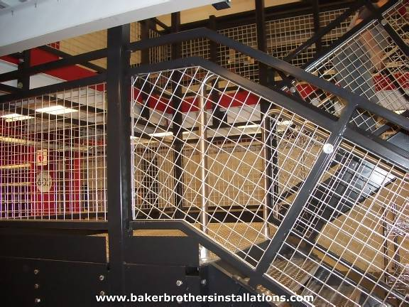 Wire Mesh Infill Panels | Baker Brothers Wire Mesh Lockers