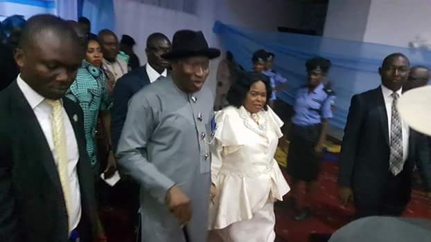 See Photos Of Patience Jonathan & Wike's Wife Dancing At Rivers ...