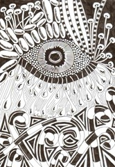 581 Zentangle Eye