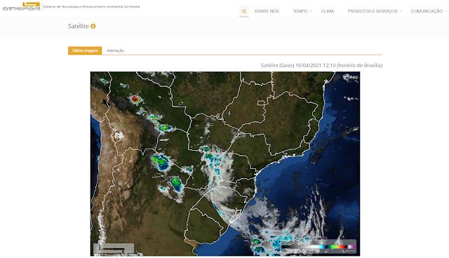 site-de-um-satelite-meteorologico