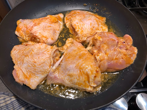 Nando's semi fried chicken