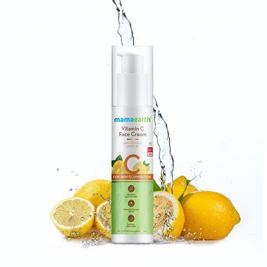 Vitamin C Face Cream with Vitamin C & SPF 20 for Skin Illumination – 50g