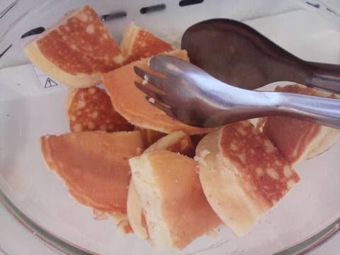 ケーキコーナー:パンケーキ 回転寿司かいおう小牧パワーズ店