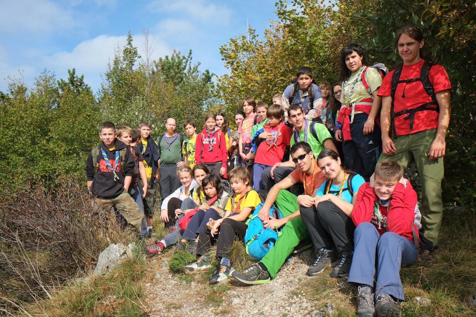 Pohod na Kozlek, Kozlek, 11.10.2014 - DSCF1172.JPG