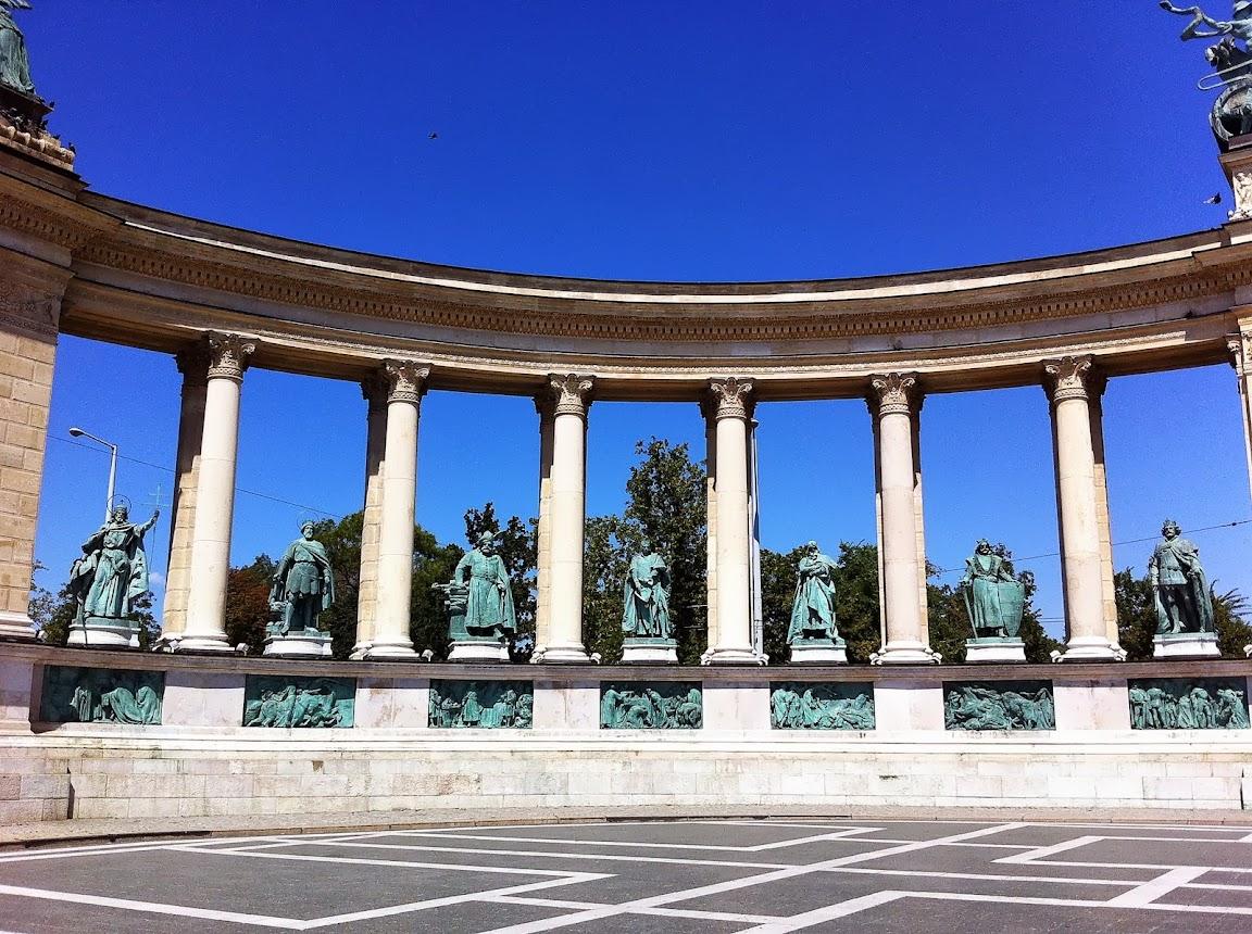 Piazza degli Eroi e Andrássy Avenue