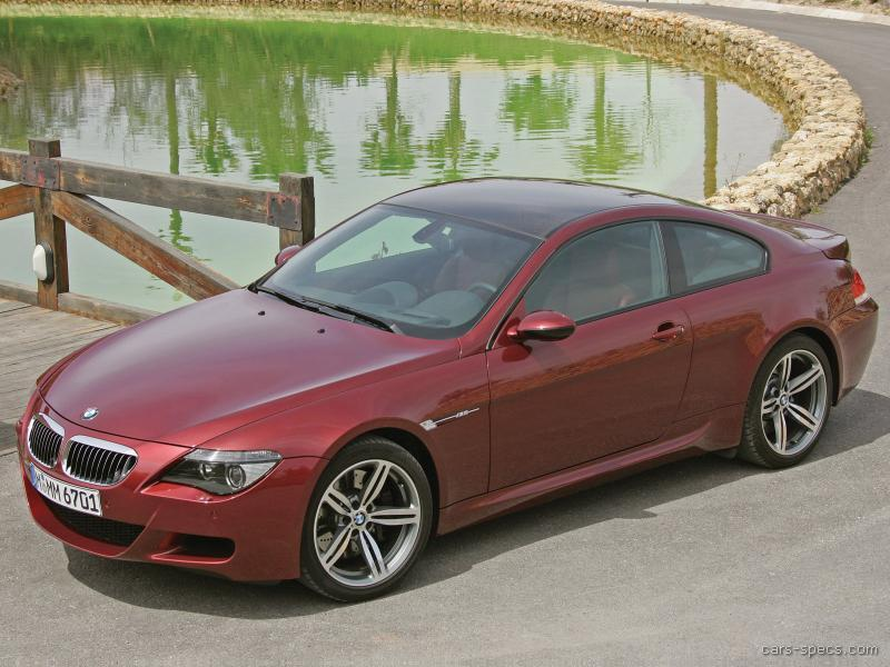 2006 bmw m6 coupe specifications pictures prices. Black Bedroom Furniture Sets. Home Design Ideas