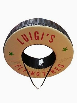 luigis flying tire