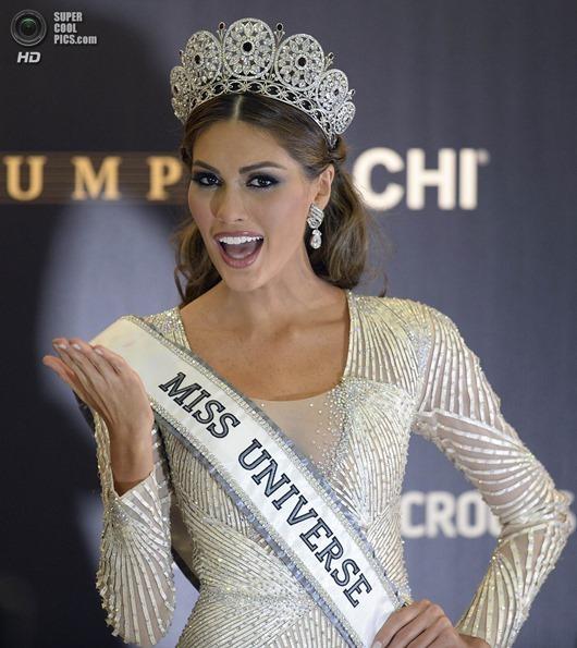 Người đẹp Venezuela đăng quang Hoa hậu Hoàn vũ 2013