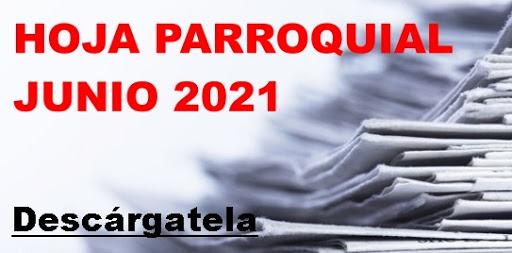 Hoja Parroquial Junio 2021