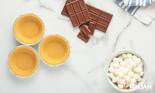 s'mores pie recipe ingredients