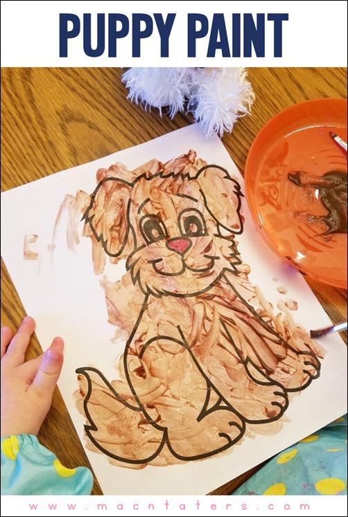 Puppy Paint