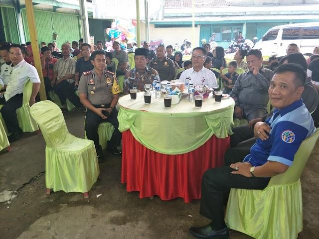 Kapolres Lamut Hadiri HUT ke-6 DPD IWO Lampung utara