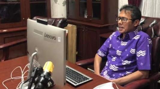 Foto: Irwan Prayitno, Gubernur Sumbar. Nihil Kasus Positif Baru, 2 Orang Warga Sumbar Dinyatakan Sembuh dari Covid-19.
