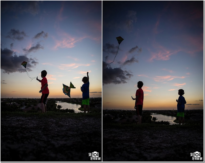 Kite Sunset silhouette-8689 (2)