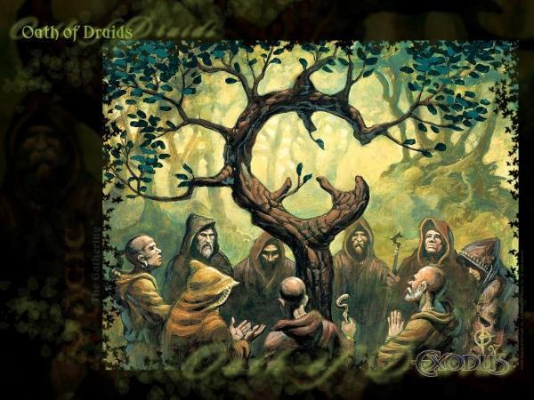Wallpaper Oath Of Druids, Celtic And Druids