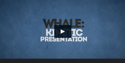 Plantilla muy buena para vídeo de presentación a base de tipografía, con infografías animadas