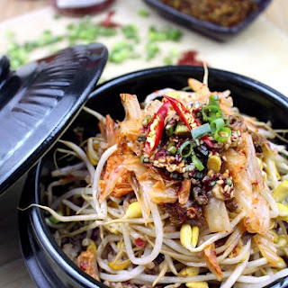 Kongnamul Bap (Soybean Sprouts Rice Bowl)
