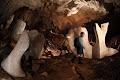 Strange monoliths in Paris Cave | photo © Robbie Shone