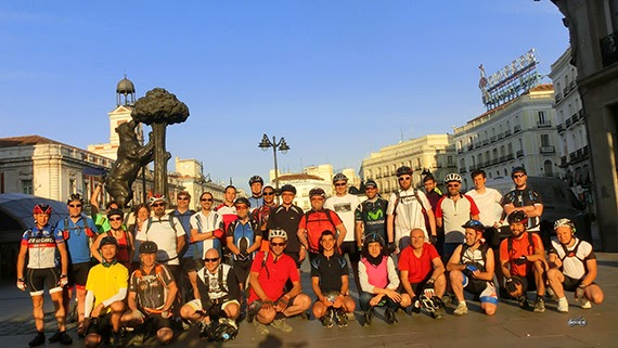 Ruta Madrid-Toledo-Madrid. Sábado 25 de abril 2015. Nuestro cuarto 'gran reto'