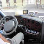Het dashboard van de Iveco van BM