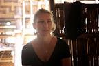 TBF's Executive Director, Iona, speaks to the head teacher (© Line Ramstad)