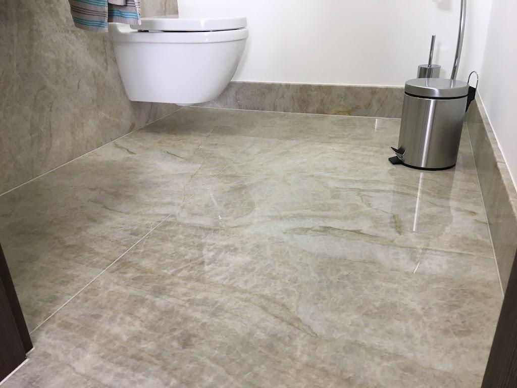 Naturstein im Badezimmer - einmalig!
