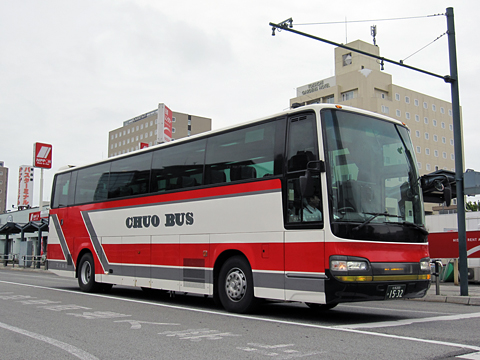 北海道中央バス「ポテトライナー」 1532
