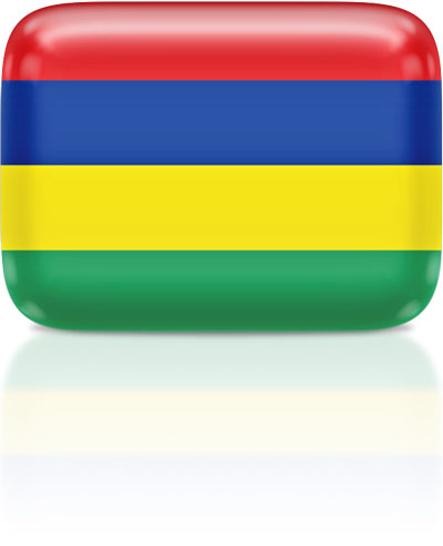 Mauritian flag clipart rectangular