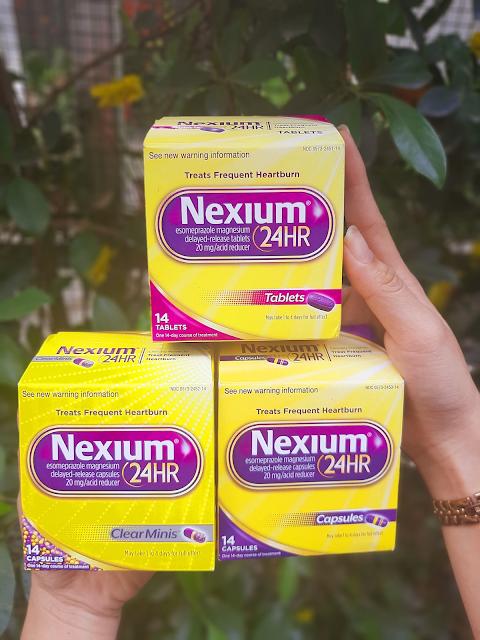 Thực phẩm chức năng Thuốc Nexium 24hr - Hỗ trợ điều trị viêm loét dạ dày ợ nóng