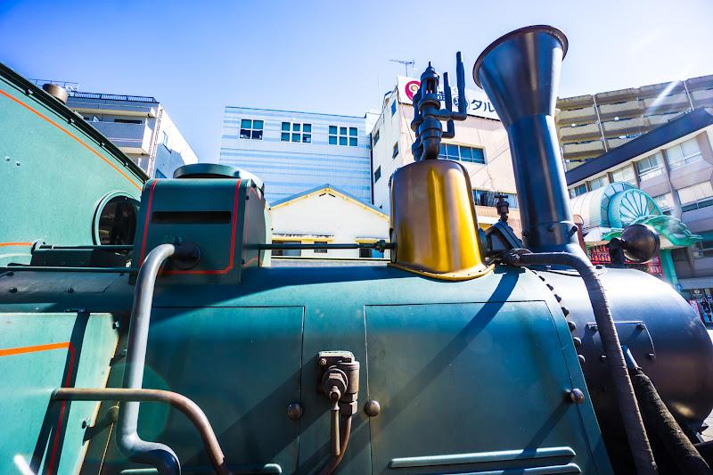 Dogo Onsen (Dogo Hot Springs), Botchan train 6