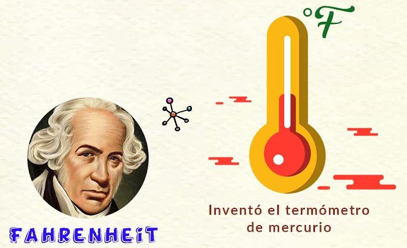 fahrenheit termometro de mercurio