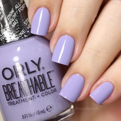 Orly Breathable Bruisedupdollie Nails