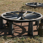 Fabrication de roue en bois