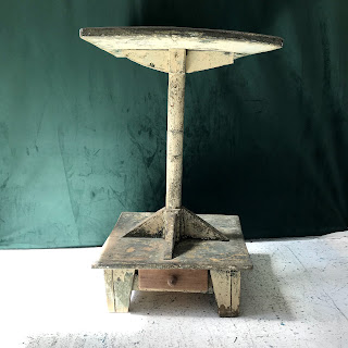 Distressed Hand-Built Lectern