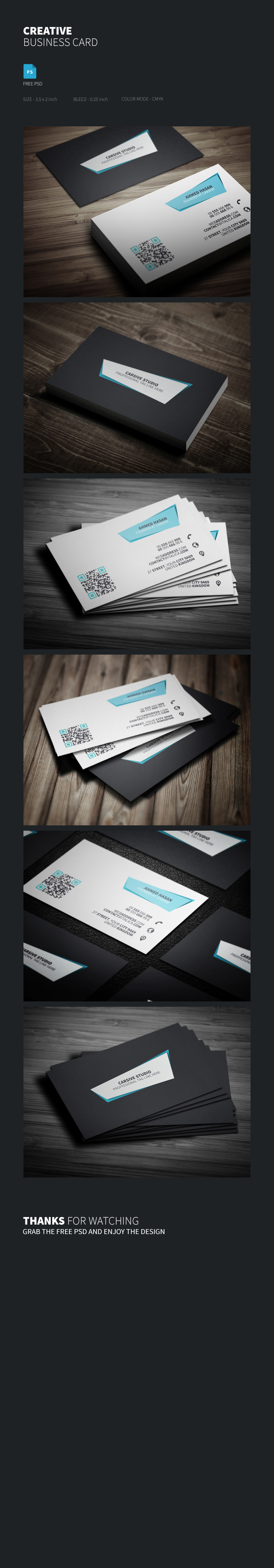 Freebie Creative Business Card Template