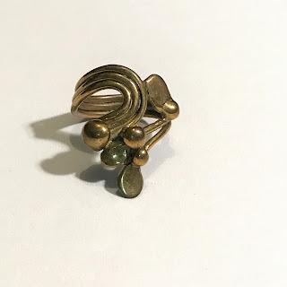 Stephen Burr Brass Ring