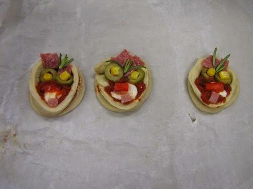 De pizzamannetjes.