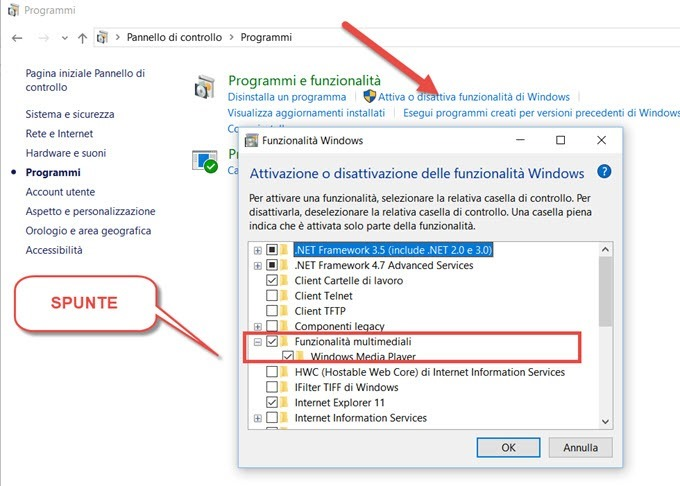 windows-media-player-attivato